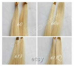 20in. Extensions tape-in Cuticle Remy Cheveux humains double dessinés, 250Grams 100pcs