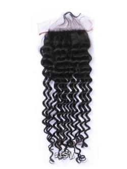 Fermeture de Raw Indian Curly