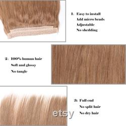 Halo Locks 100 Human Remy Hair Extensions, Brown Black Blonde Ombre, 20 , 22 , 24 , 26 , 28 , 30 .