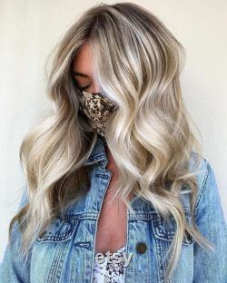 Luxe Dirty Blonde Highlight Ashy Tips Balayage 100 Human Hair Swiss 13x4 Lace Front Wig Wavy U-Part, 360 ou Full Lace Upgrade Available