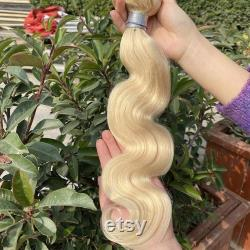 Membre exclusif 10A Grade Blonde Raw Brazilian Body Wave Model Number A10151