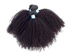 Mongolie afro Kinky Curly