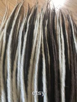 READY TO SHIP 80 bruns blonds simples finis dreads synthétiques