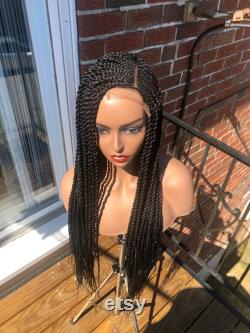 tissage twists perruque conrow